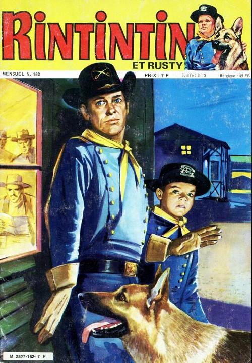 Couverture de Rin Tin Tin & Rusty (2e série) -162- Les 3 sosies
