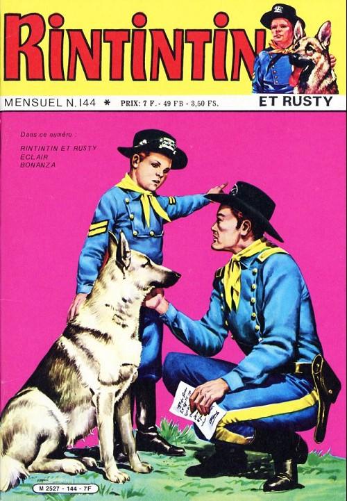 Couverture de Rin Tin Tin & Rusty (2e série) -144- L'enlèvement de la petite annie