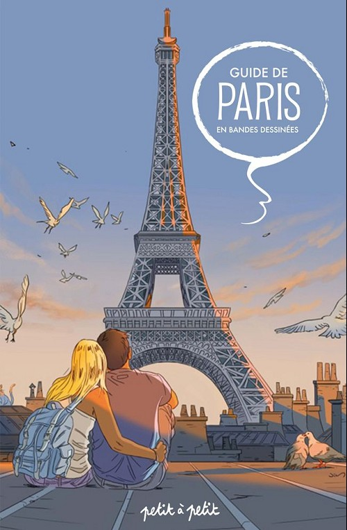 Couverture de Guide de Paris en bandes dessinées