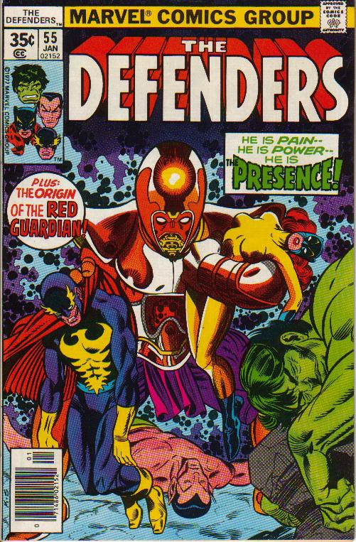 Couverture de Defenders (The) (1972) -55- The Power Principle Part 3: Emotion, Ego... and Empty Expectations!