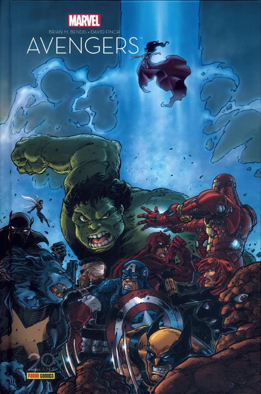 Couverture de Avengers - La séparation