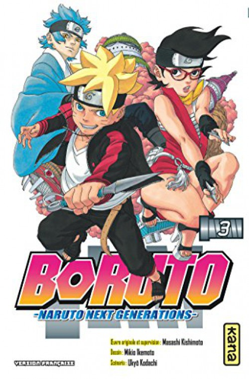 Couverture de Boruto - Naruto Next Generations -3- C'est mon histoire