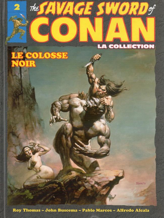 Couverture de Savage Sword of Conan (The) - La Collection (Hachette) -2- Le colosse noir