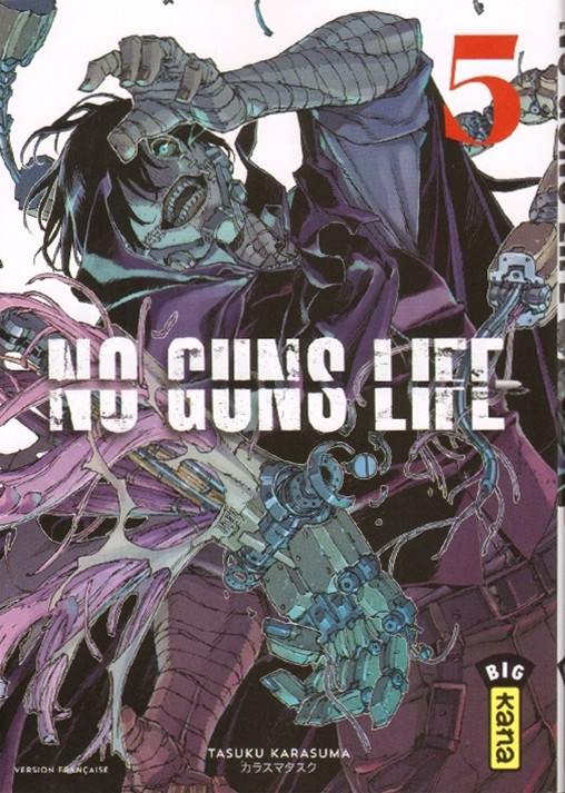 Couverture de No guns life - Tome 5