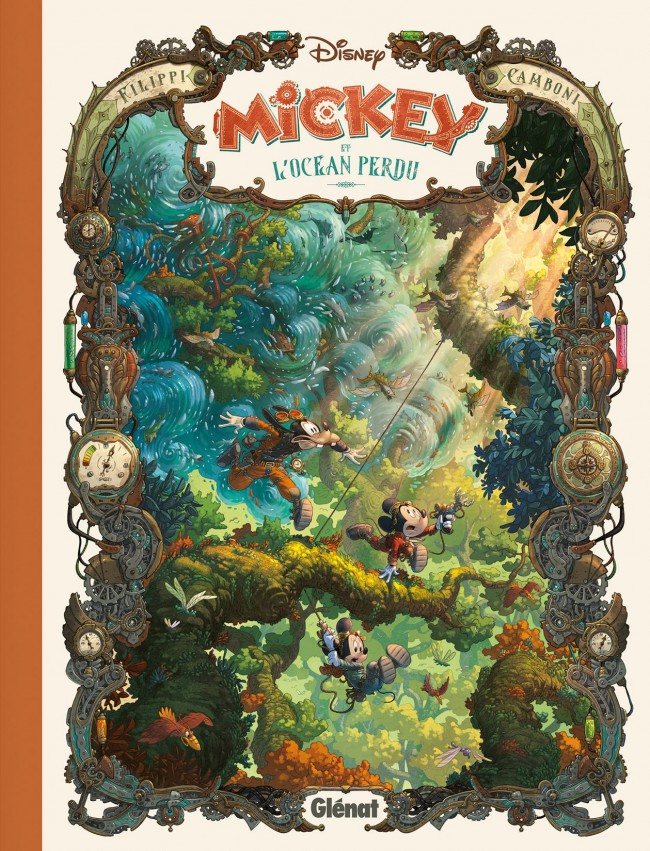 Couverture de Mickey (collection Disney / Glénat) - Mickey et l'océan perdu