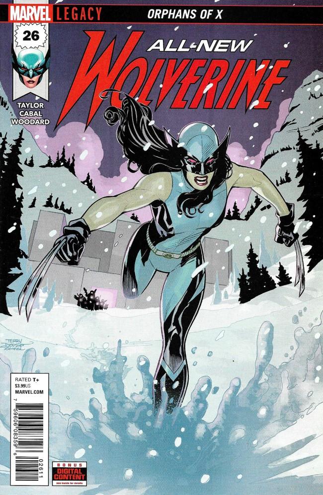 Couverture de All-New Wolverine (2016) -26- Orphans Of X Part 2