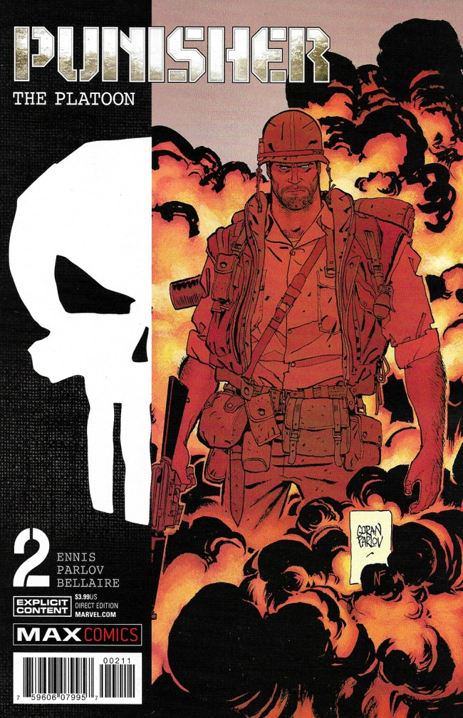 Couverture de Punisher: The Platoon (2017) -2- Punisher: The Platoon