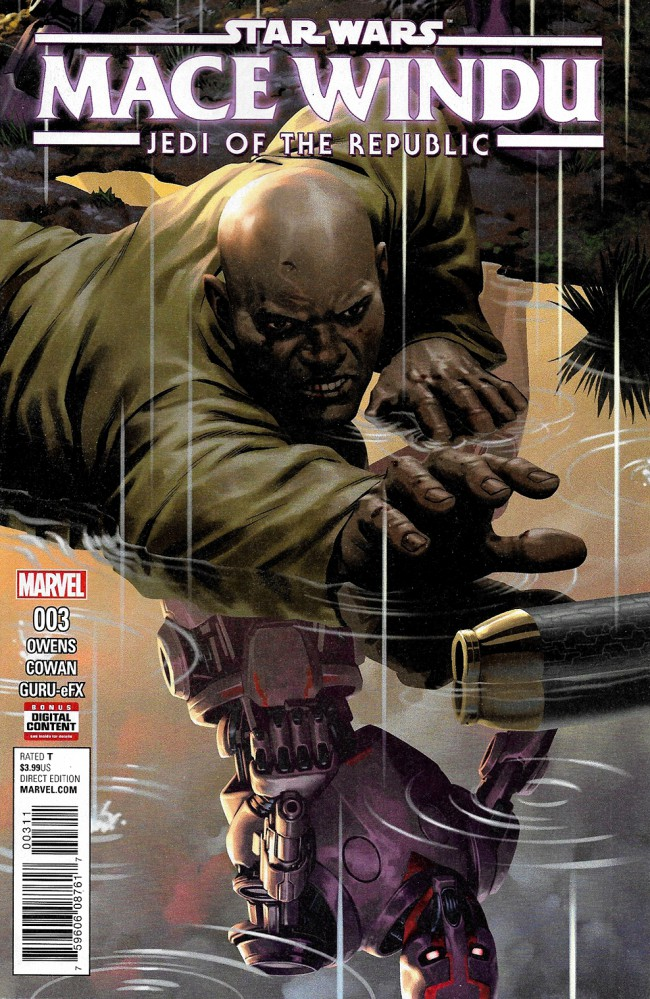 Couverture de Star Wars: Jedi Of The Republic - Mace Windu (2017) -3- Book I, Part III : Mace Windu