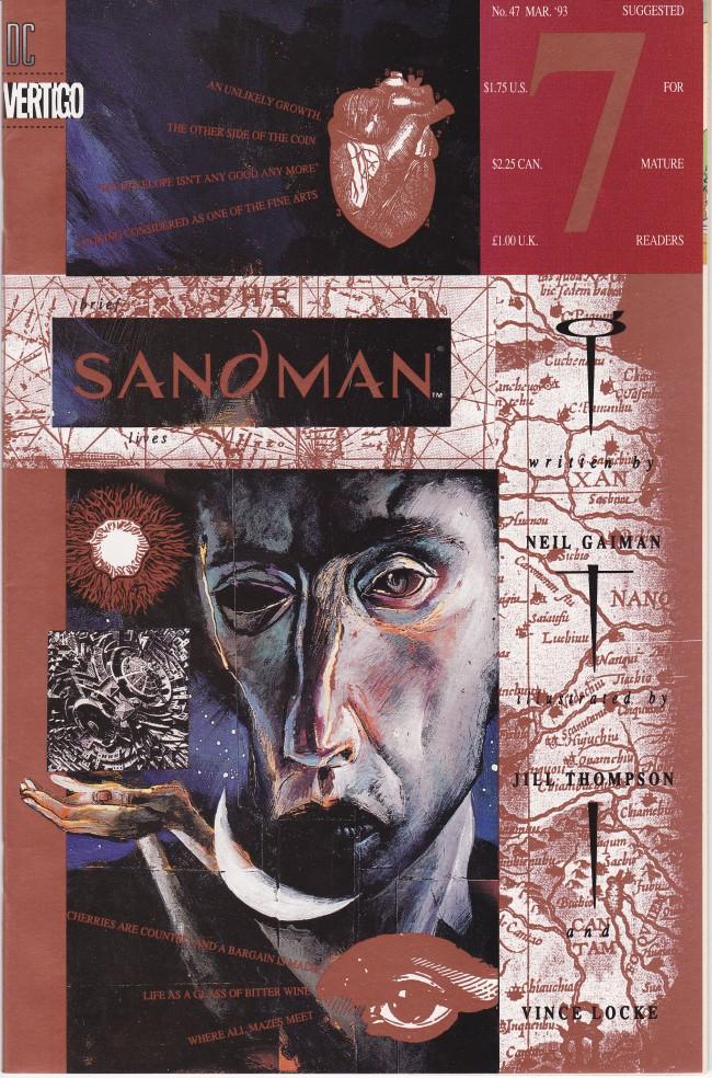 Couverture de Sandman (The) (1989) -47- Brief Lives 7