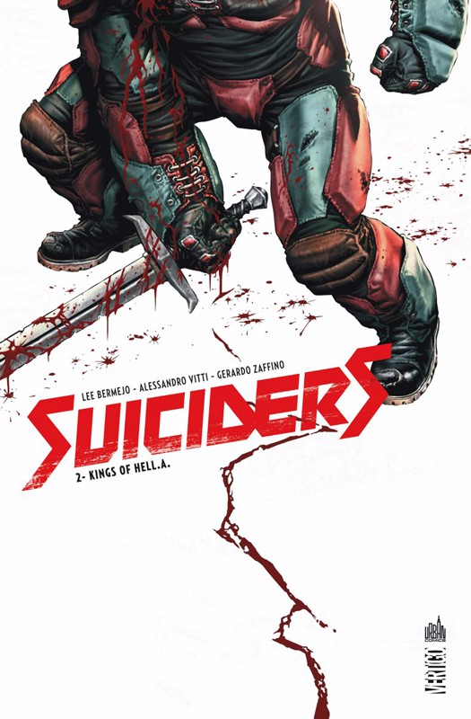 Couverture de Suiciders -2- Kings of HelL.A.