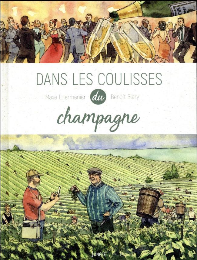 Couverture de Dans les coulisses... -2- Dans les coulisses du champagne