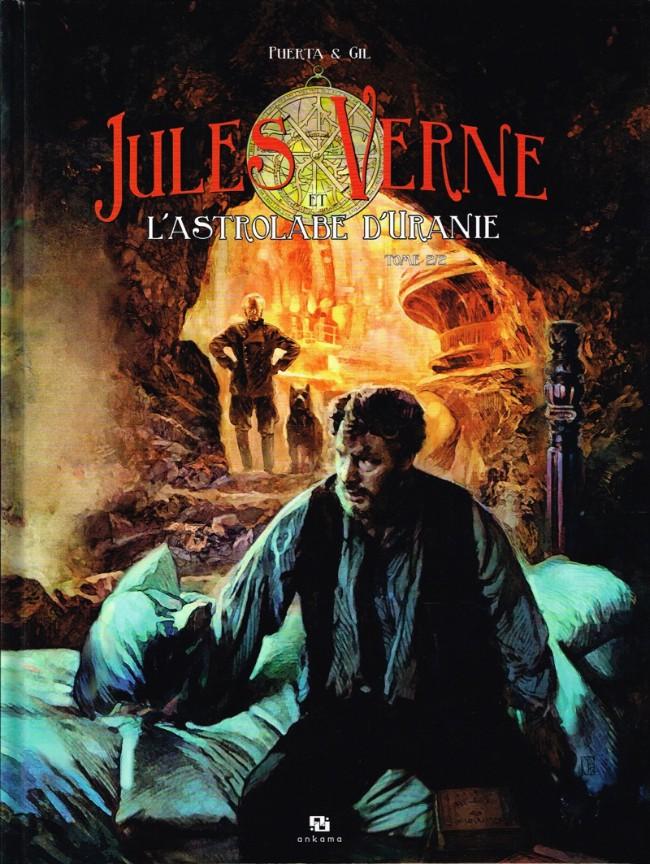 Couverture de Jules Verne et l'astrolabe d'Uranie -2- Tome 2/2