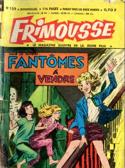 Couverture de Frimousse et Frimousse-Capucine -159- Fantômes à vendre