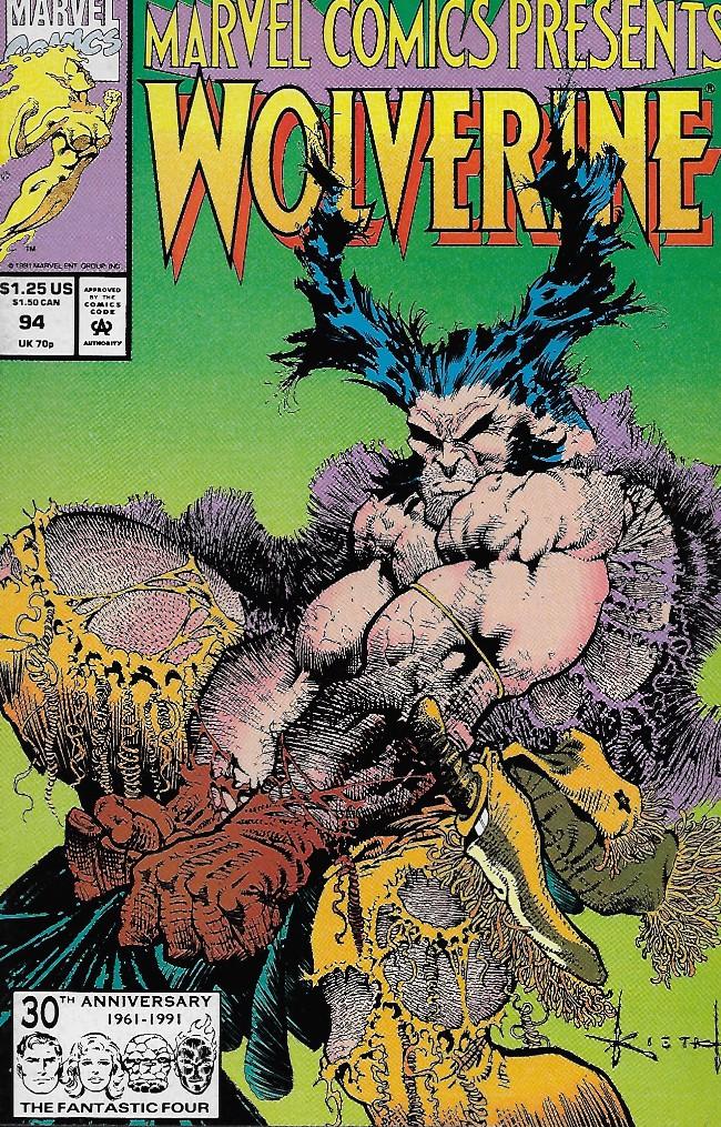 Couverture de Marvel Comics Presents Vol.1 (Marvel Comics - 1988) -94- The Backbone of God: Part Two