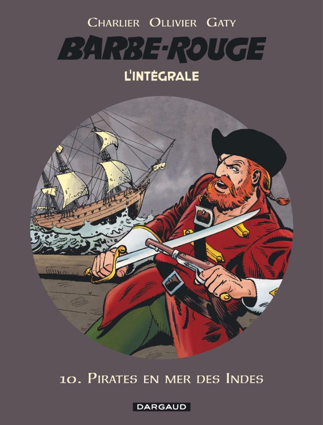 Couverture de Barbe-Rouge (L'intégrale - Nouvelle édition) -10- Pirates en mer des Indes