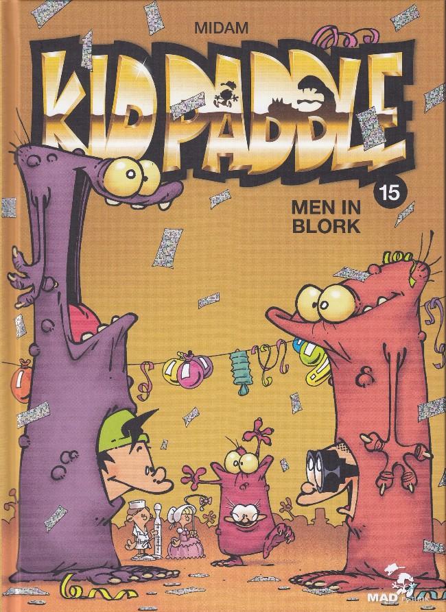Couverture de Kid Paddle -15- Men In Blork