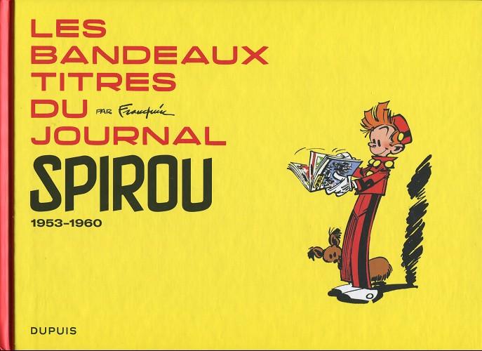 Couverture de Spirou et Fantasio -2- (Divers) - Les bandeaux-titres du journal Spirou