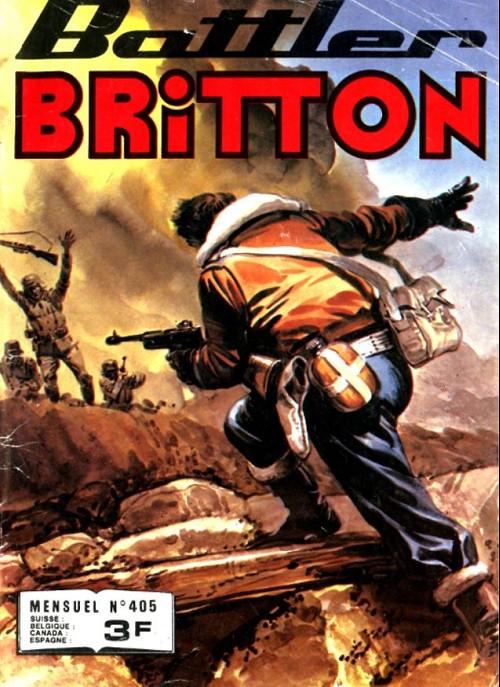 Couverture de Battler Britton -405- Les pièces de musée