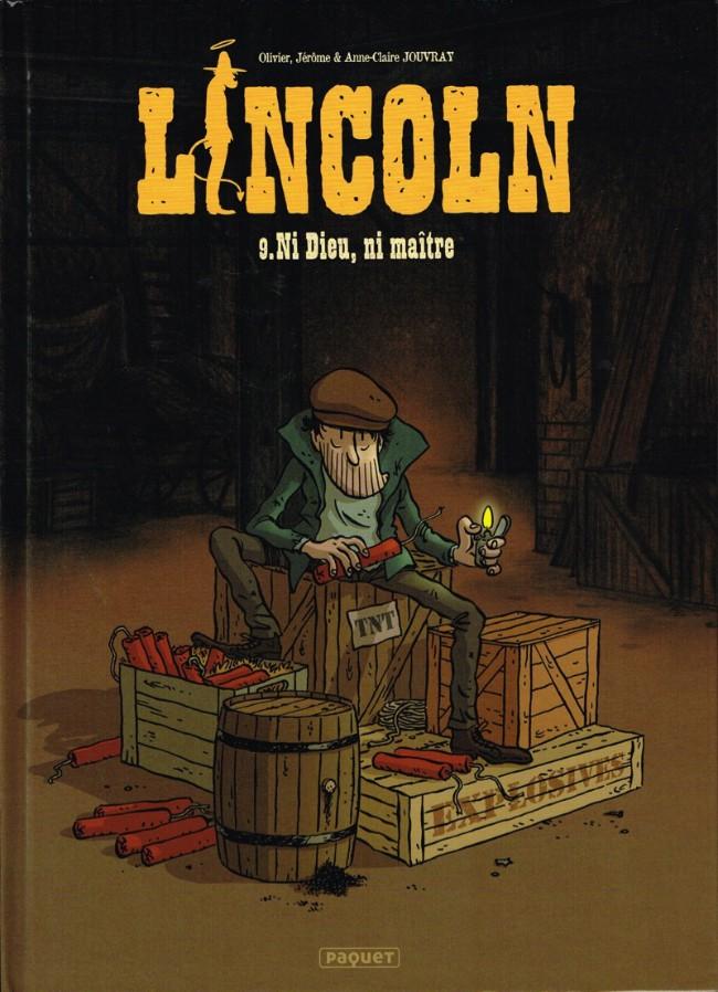 Couverture de Lincoln -9- Ni Dieu, ni maître