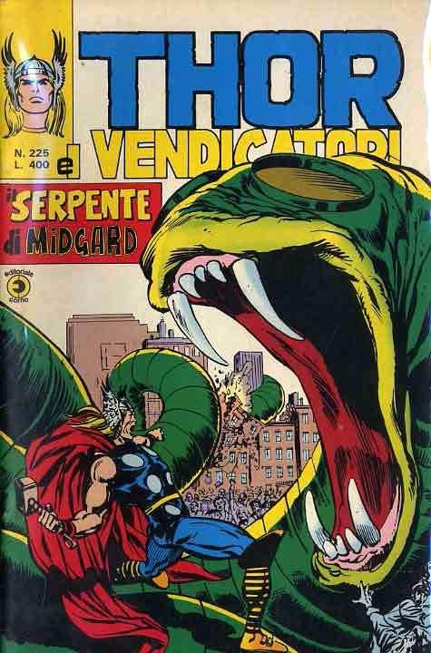 Couverture de MiticoThor (Il) -225- Il Serpente di Midgard