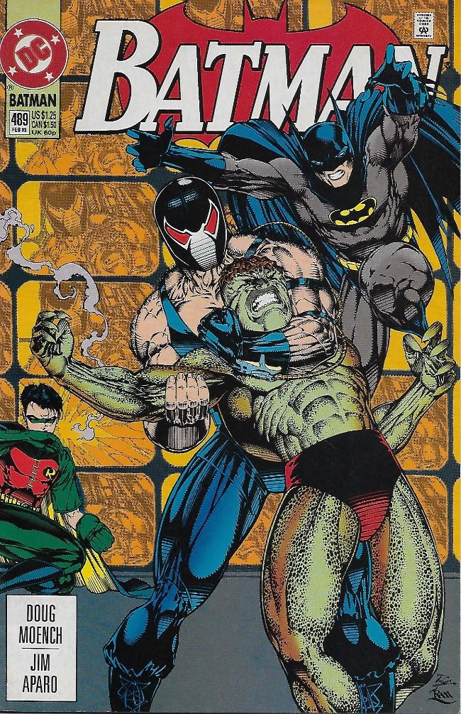 Couverture de Batman Vol.1 (DC Comics - 1940) -489- Killer's Bane