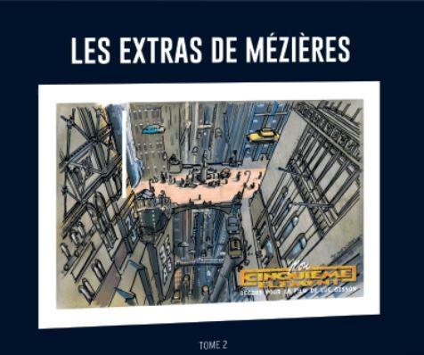 Couverture de Valérian - La collection (Hachette) -HS2- Les extras de Mézières - Tome 2