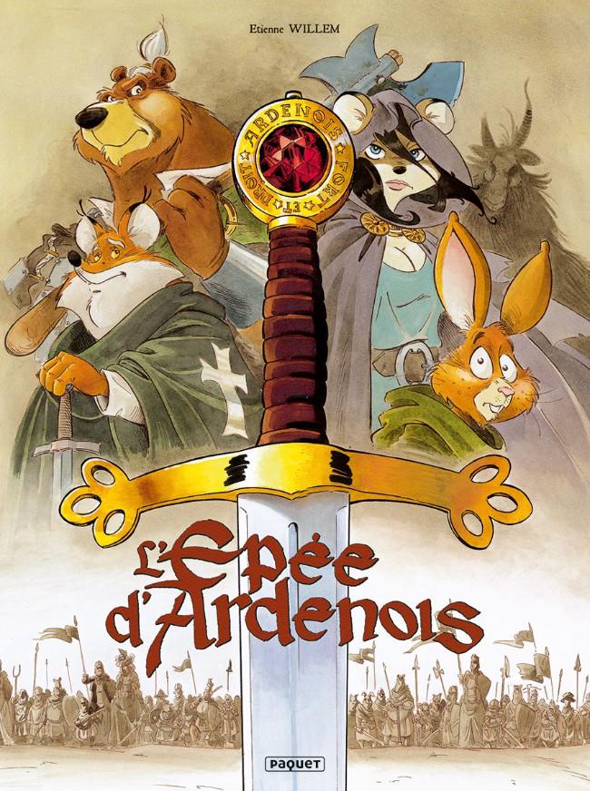 Couverture de L'Épée d'Ardenois - Tome INT