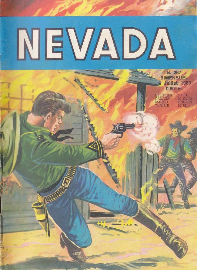 Couverture de Nevada (LUG) -257- Miki le ranger