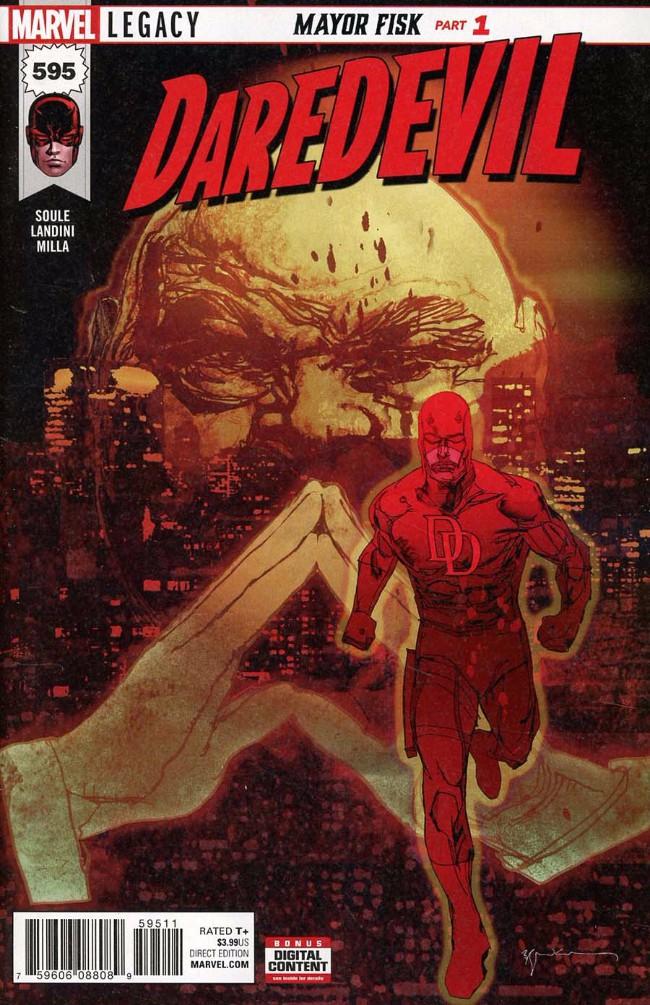 Couverture de Daredevil (1964) -595- Mayor Fisk - Part 1