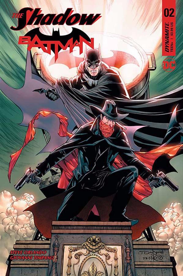 Couverture de Shadow/Batman (The) (2017) -2- Part Two