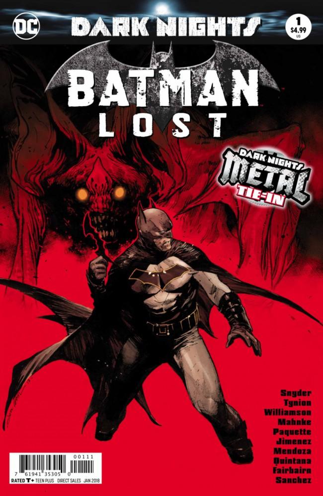 Couverture de Batman Lost (2017) -1- Batman Lost