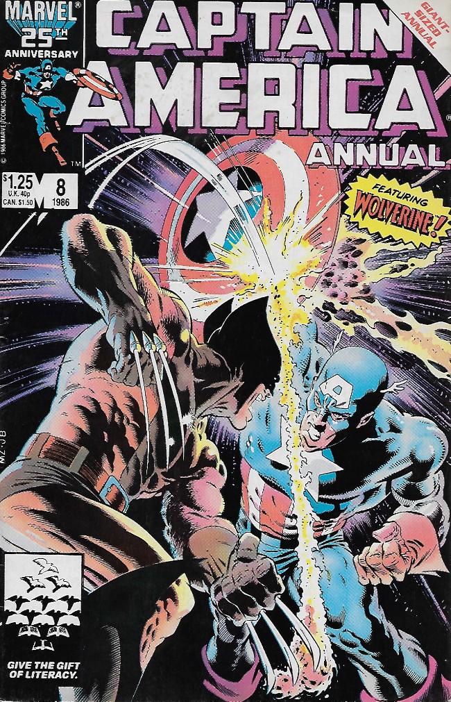 Couverture de Captain America (1968) -AN08- Tess One