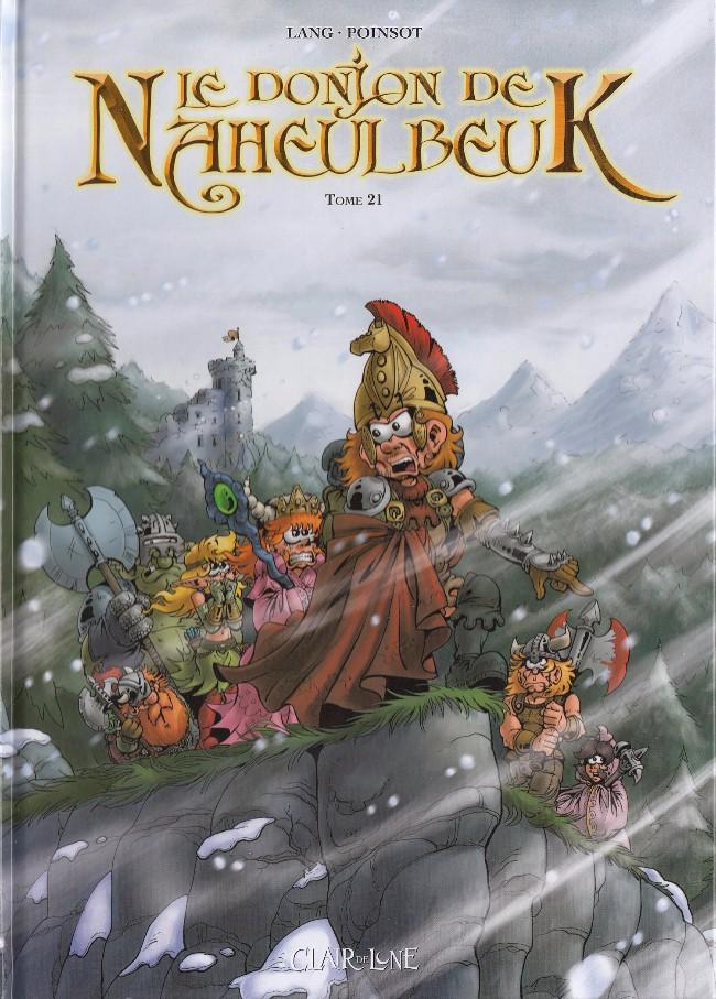Couverture de Le donjon de Naheulbeuk -21- Sixième saison, Partie 3