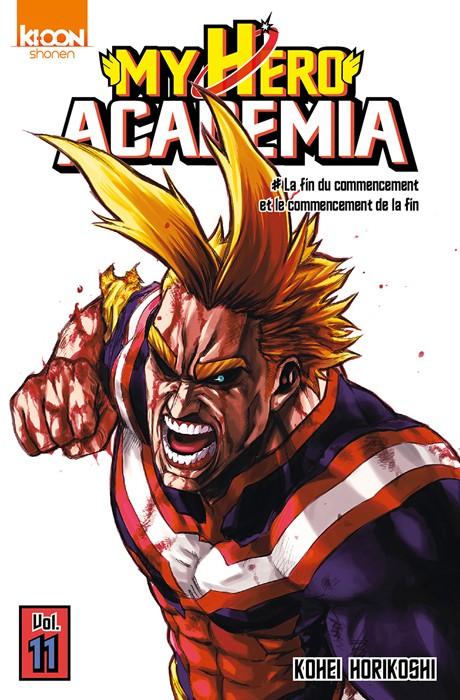 Couverture de My Hero Academia -11- La fin du commencement et le commencement de la fin