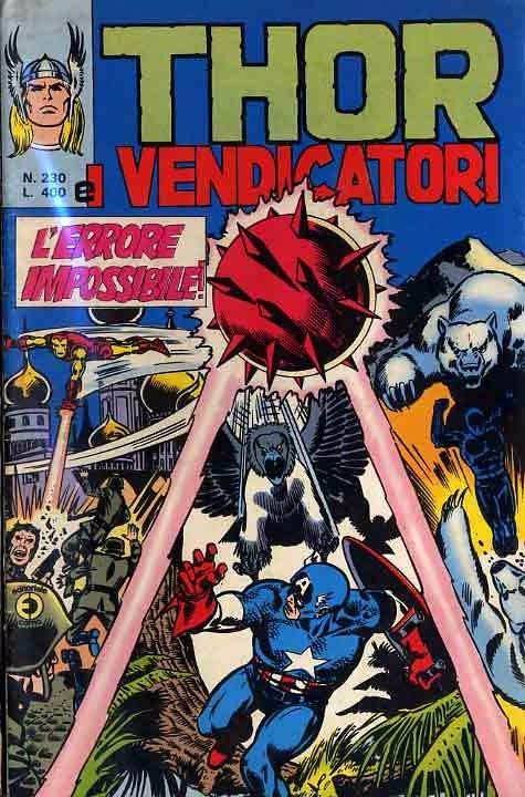 Couverture de MiticoThor (Il) -230- L'Errore impossibile