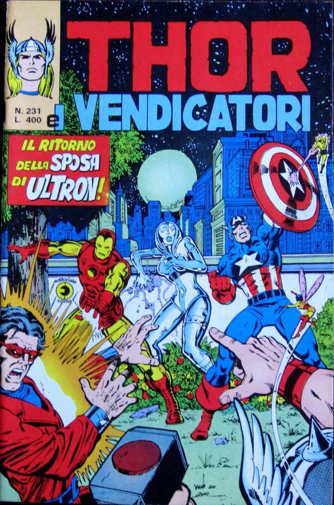 Couverture de MiticoThor (Il) -231- Il ritorno della Sposa di Ultron
