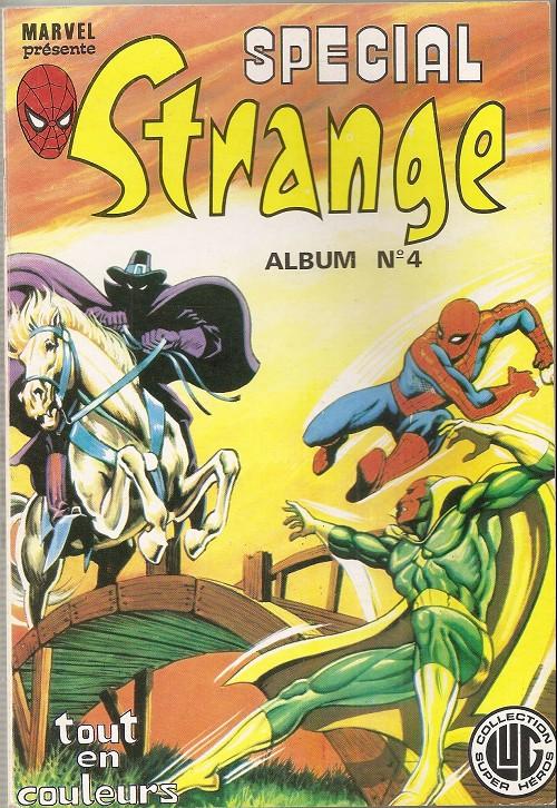 Couverture de Spécial Strange -Rec04- Album N°4 (du n°10 au n°12)