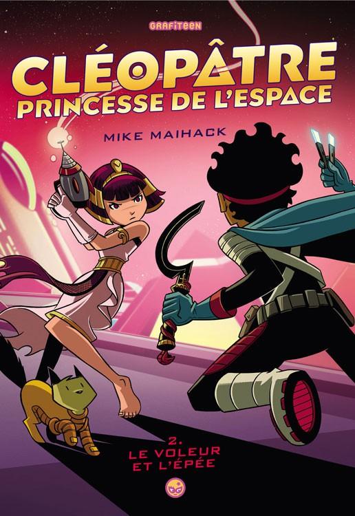 Couverture de Cléopâtre, Princesse de l'espace -2- Le voleur et l'épée