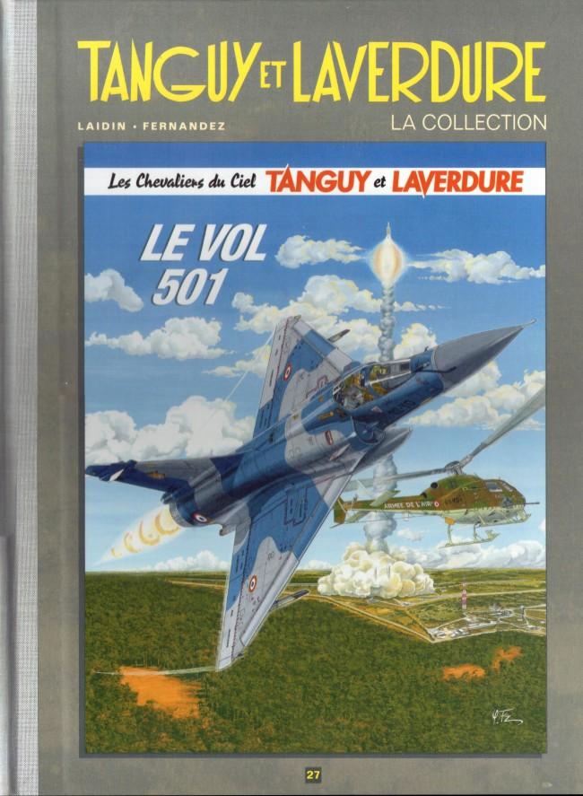 Couverture de Tanguy et Laverdure - La Collection (Hachette) -27- Le vol 501