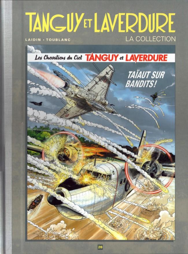 Couverture de Tanguy et Laverdure - La Collection (Hachette) -28- Taïaut sur bandits !
