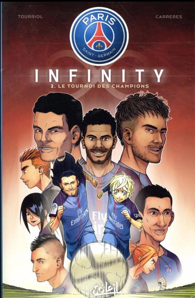 Couverture de PSG infinity -2- Tome 2