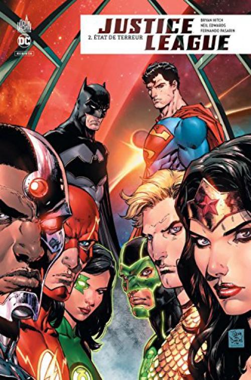 Couverture de Justice League Rebirth -2- État de terreur