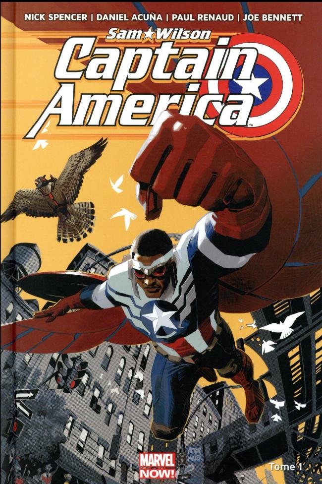 Couverture de Captain America : Sam Wilson -1- Pas mon Captain America