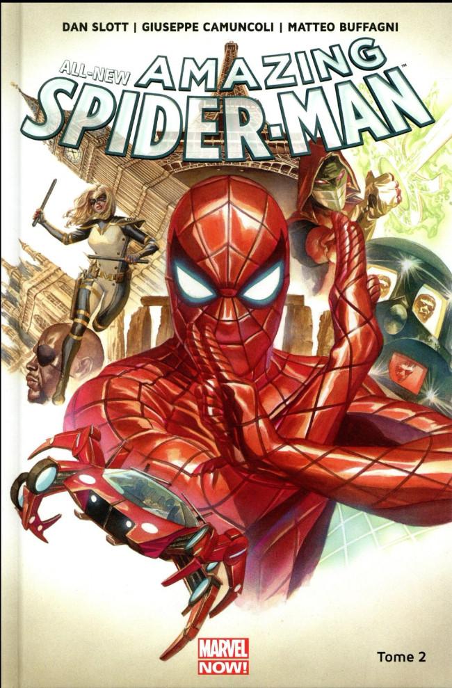 Couverture de All-New Amazing Spider-Man (Marvel Now!) -2- Le Royaume de l'ombre