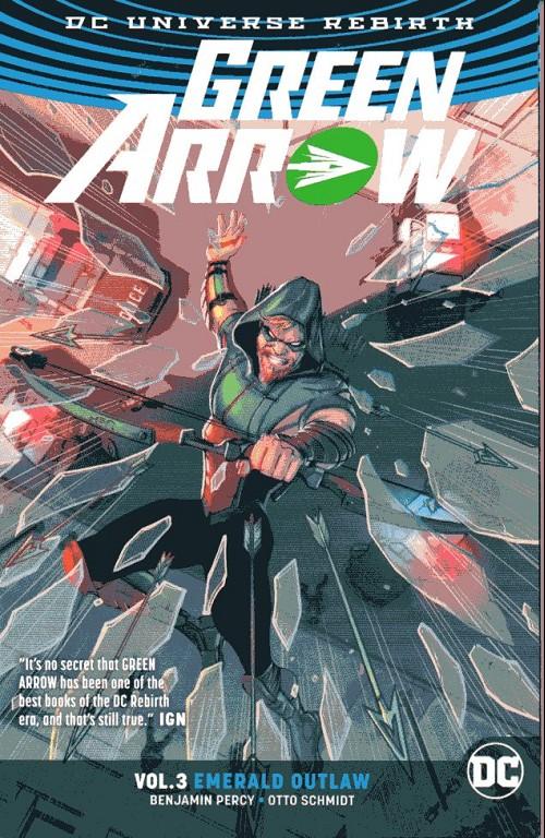 Couverture de Green Arrow (2016) -INT03- Emerald Outlaw