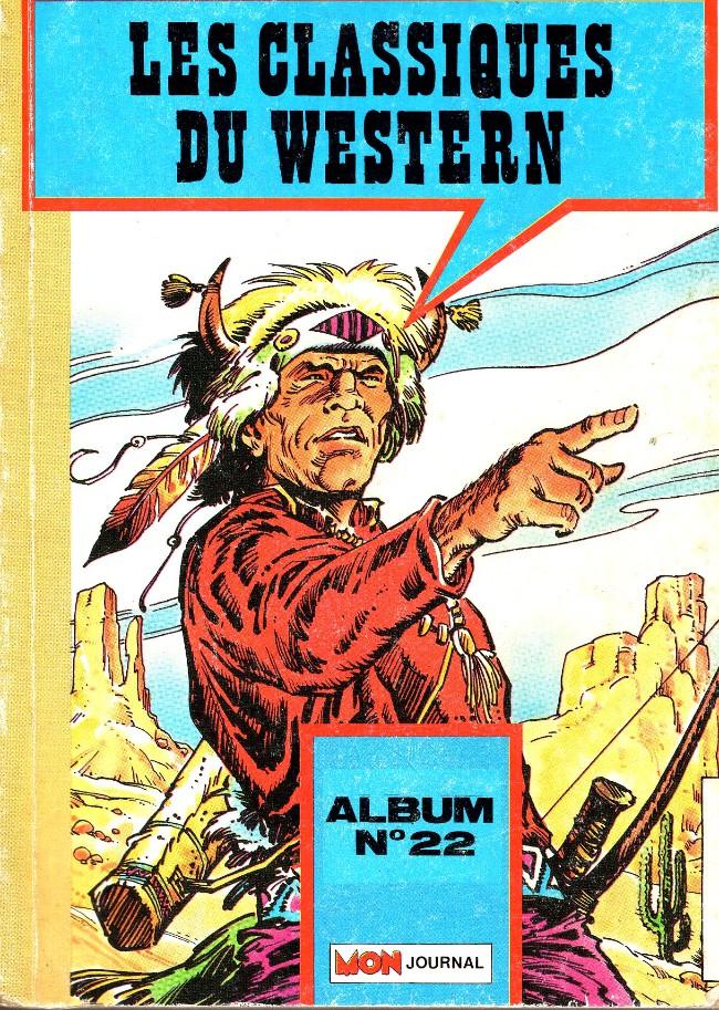 Couverture de Les classiques du western -Rec22- ALbum N° 22 (Apaches n° 106-107-108)