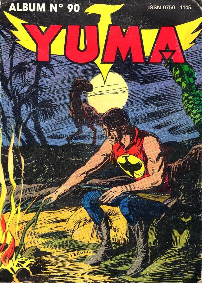 Couverture de Yuma (1re série) -Rec090- Album N° 90 (321-322-323)