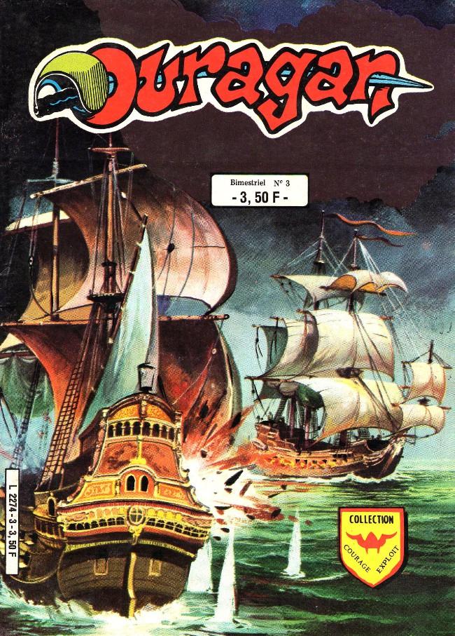 Couverture de Ouragan (3e série) -3- Le petit corsaire