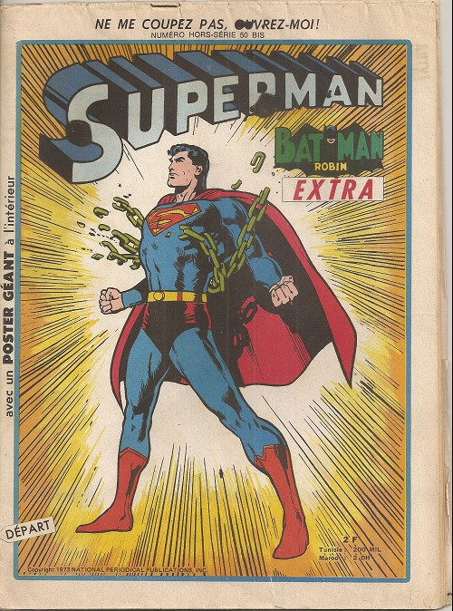 Couverture de Superman extra. (sagédition) -50bis- Hors-série