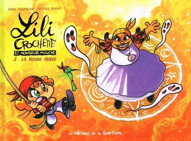Couverture de Lili Crochette et Monsieur Mouche -2- La nounou vaudou